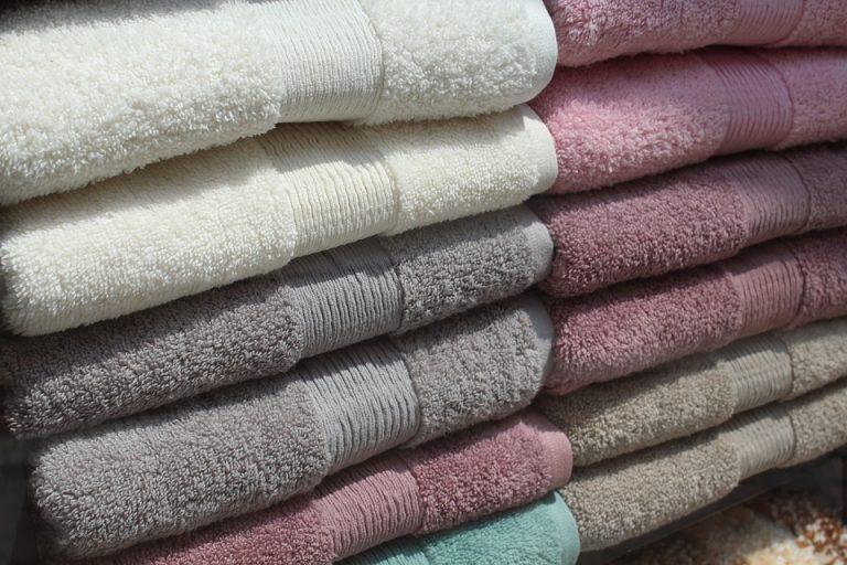 handdoeken zachte kleuren