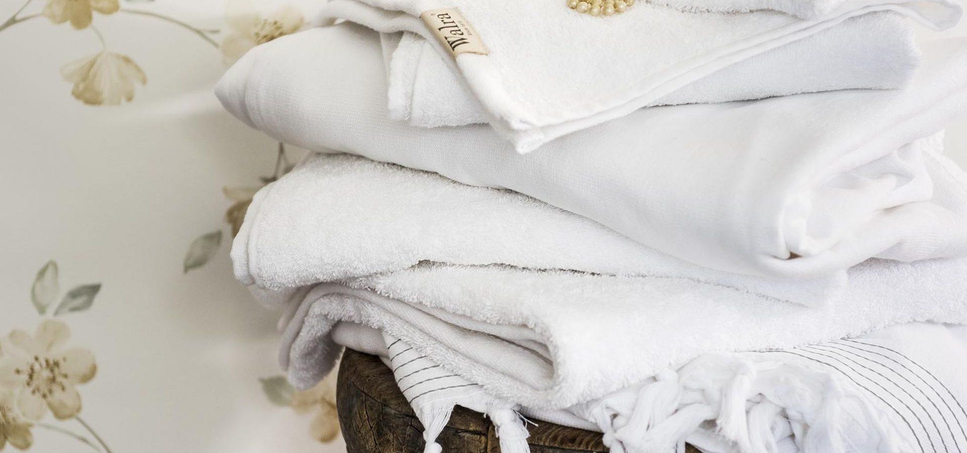 witte handdoeken